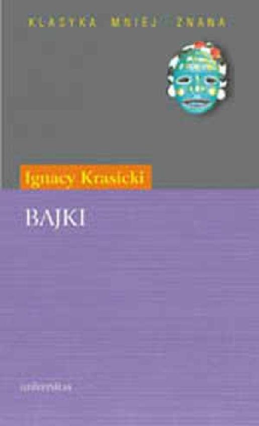 Bajki Krasicki Ignacy Krasicki 83 242 0290 0