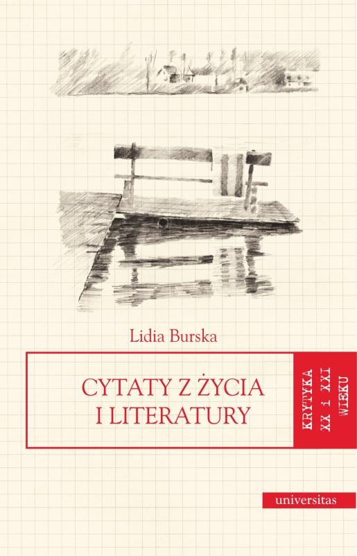 Cytaty Z życia I Literatury Lidia Burska 97883 242 2217 9