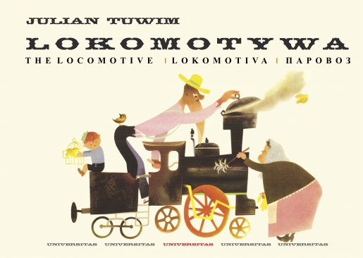 Lokomotywa – The Locomotive – Lokomotiva – Паровоз